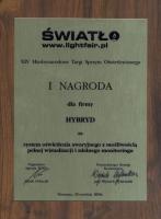 1st award ŚWIATŁO 2006